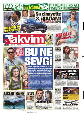 Gazete Manşetleri - 17 Temmuz 2012 15