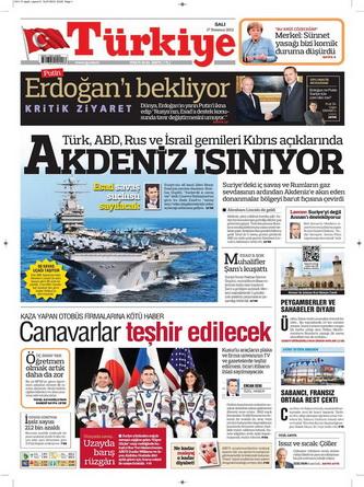 Gazete Manşetleri - 17 Temmuz 2012 17