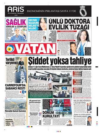 Gazete Manşetleri - 17 Temmuz 2012 18