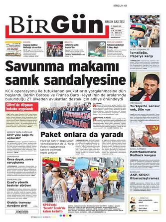 Gazete Manşetleri - 17 Temmuz 2012 2