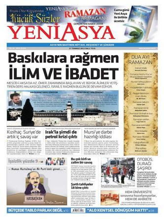 Gazete Manşetleri - 17 Temmuz 2012 20