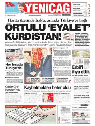 Gazete Manşetleri - 17 Temmuz 2012 21