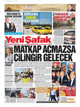 Gazete Manşetleri - 17 Temmuz 2012 22
