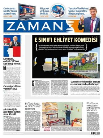 Gazete Manşetleri - 17 Temmuz 2012 23