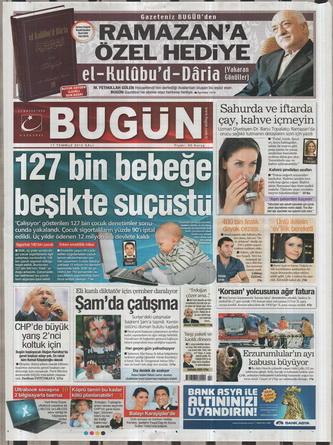 Gazete Manşetleri - 17 Temmuz 2012 3