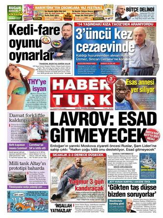 Gazete Manşetleri - 17 Temmuz 2012 6