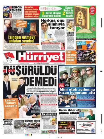 Gazete Manşetleri - 17 Temmuz 2012 7
