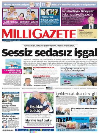 Gazete Manşetleri - 17 Temmuz 2012 8