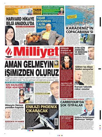 Gazete Manşetleri - 17 Temmuz 2012 9