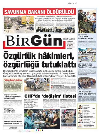 Gazete Manşetleri - 19 Temmuz 2012 2