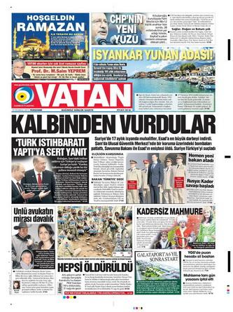 Gazete Manşetleri - 19 Temmuz 2012 21
