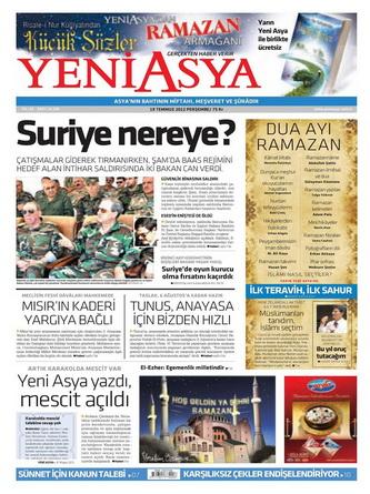 Gazete Manşetleri - 19 Temmuz 2012 23