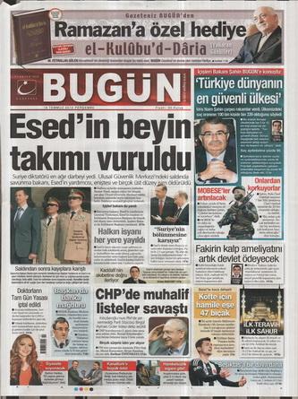 Gazete Manşetleri - 19 Temmuz 2012 3