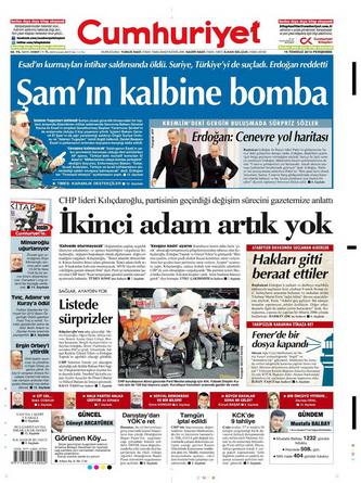 Gazete Manşetleri - 19 Temmuz 2012 4