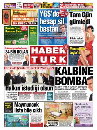 Gazete Manşetleri - 19 Temmuz 2012 6