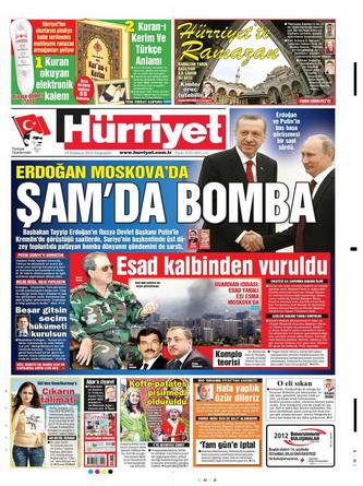 Gazete Manşetleri - 19 Temmuz 2012 7