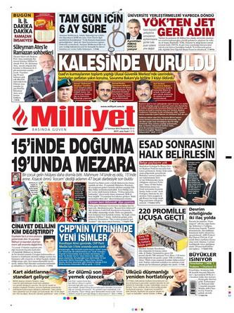 Gazete Manşetleri - 19 Temmuz 2012 9