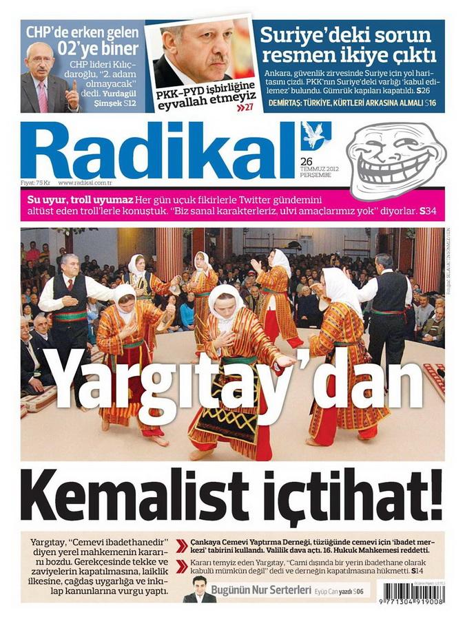 Gazete Manşetleri - 26 Temmuz 2012 13
