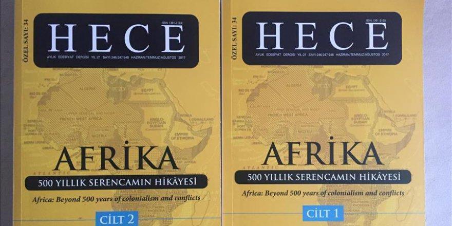 Hece Edebiyat Dergisi Afrika Özel Sayısı Hazırladı