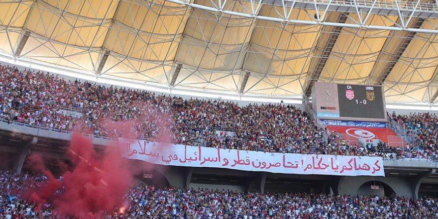 """""""Katar'ı Ablukaya Alıyorsunuz,İsrail'i İse Rahat Bırakıyorsunuz"""""""