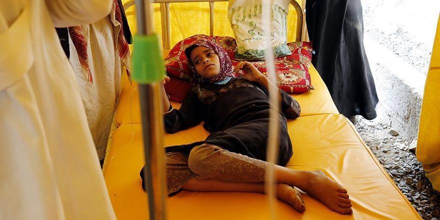 Yemen'deki Kolera Salgını: Can Kaybı Sayısı Bin 54 Oldu!