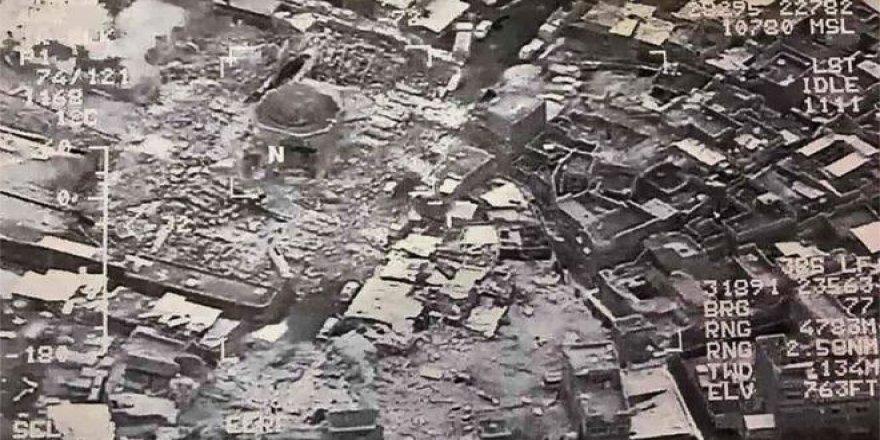 IŞİD: Nuri Camisini ABD Uçakları Havaya Uçurdu