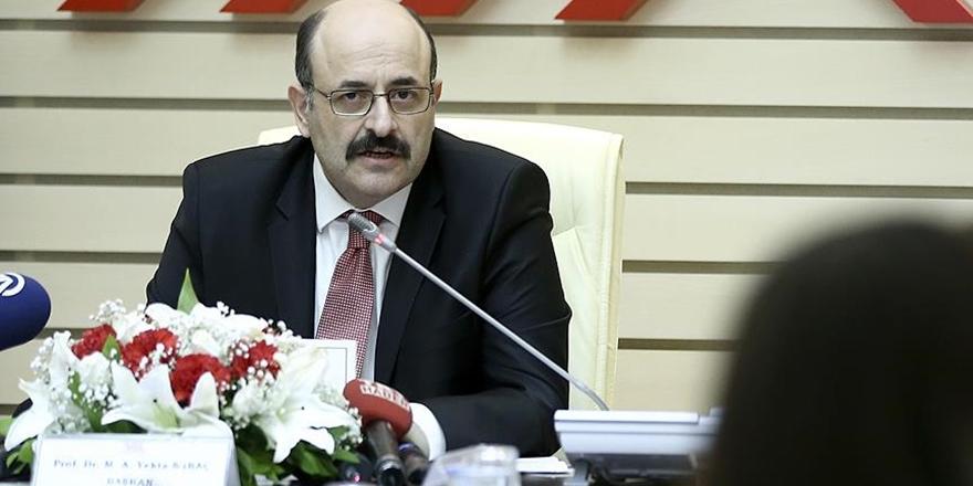 Prof. Dr. Yekta Saraç YÖK Başkanlığına Yeniden Seçildi