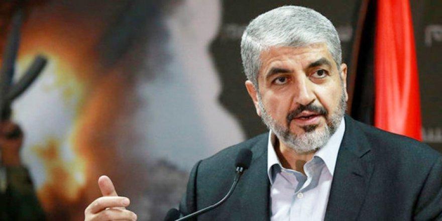 Halid Meşal: Gazze'nin Direnişten Vazgeçmesini İstiyorlar!