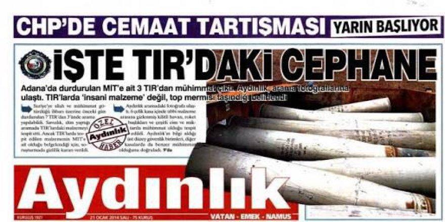 Enis Berberoğlu: Mahkeme Neden Aydınlık'ın Yayınının Üstünü Örttü?