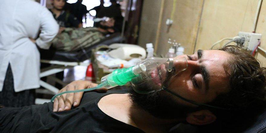 Esed Güçlerinden Şam'da Klor Gazlı Saldırı