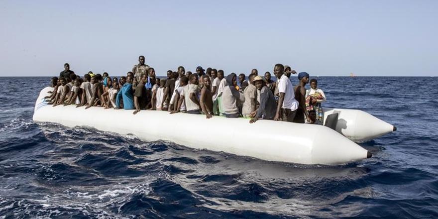 Akdeniz'den Avrupa'ya Geçen Göçmen Sayısı 100 Bini Geçti!
