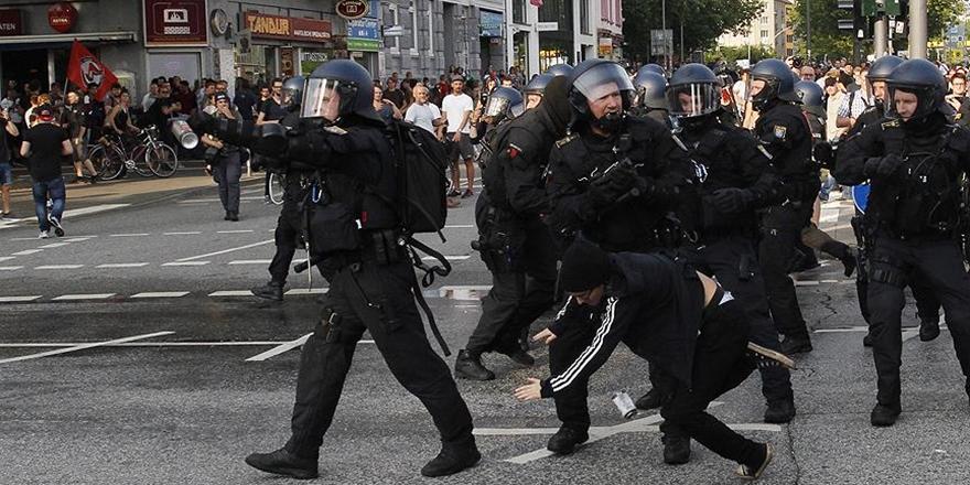 Hamburg'daki Gösterilerde Gözaltı Sayısı 265'e Yükseldi