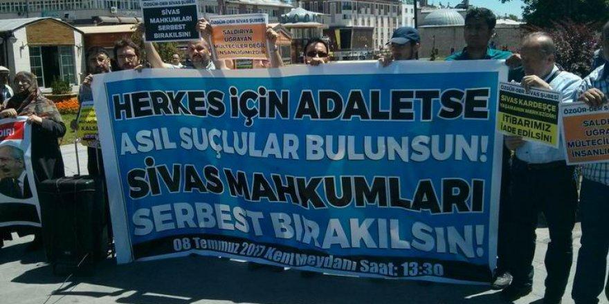 """""""Sivas Olayları Mahkumları Serbest Bırakılmalıdır!"""""""