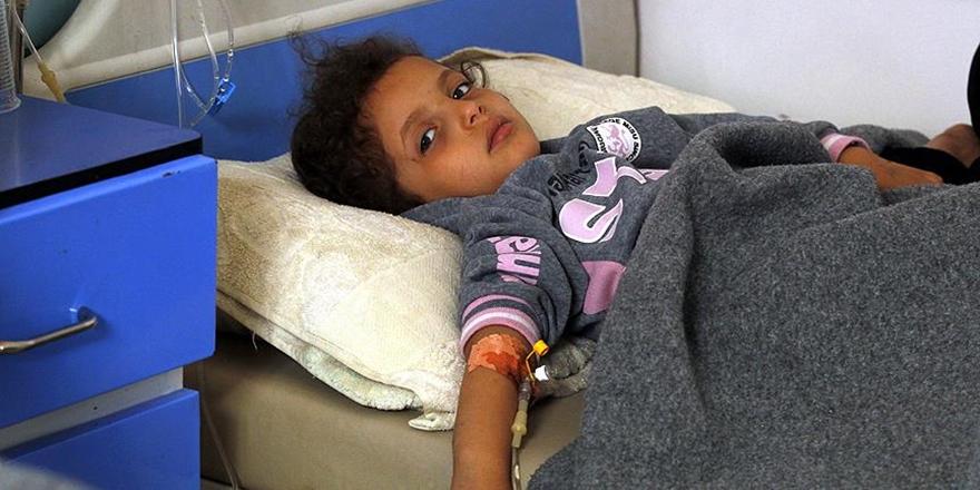 Yemen'deki Kolera Salgınında Bin 858 Kişi Hayatını Kaybetti