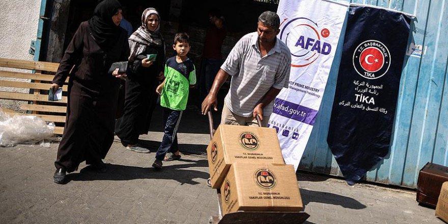 Türkiye'nin Gönderdiği 29 Bin Koli Yardım Gazze'ye Ulaştı