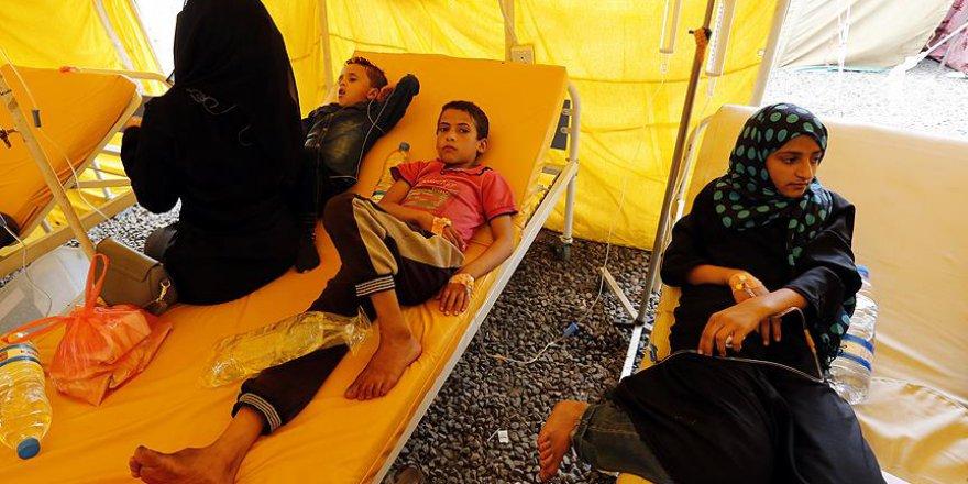 Yemen'de Kolera Salgını 3 Ayda Bin 784 Can Aldı