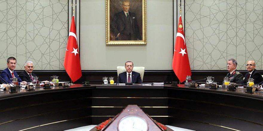 MGK: Türkiye, Sınırında Terör Devleti Kurulmasına Asla İzin Verilmeyecek