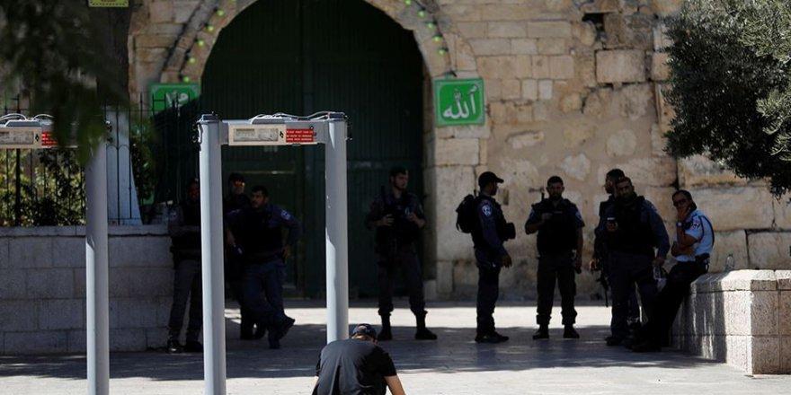 Mescid-i Aksa'da Arama Dedektörleri Kaldırılıyor