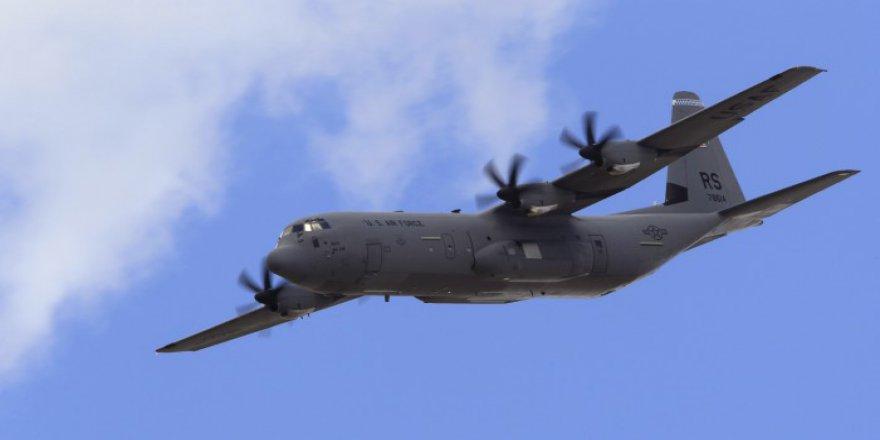 Taliban ABD'ye Ait Nakliye Uçağını Vurdu