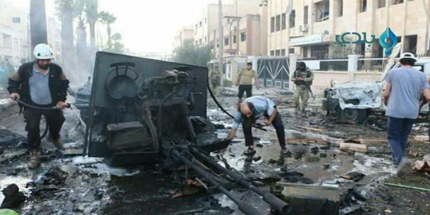 İdlib'de Patlama: Çok Sayıda Ölü ve Yaralı Var!