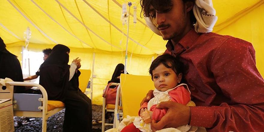 Yemen'deki Kolera Salgını: Can Kaybı Sayısı 2 Bini Aştı!