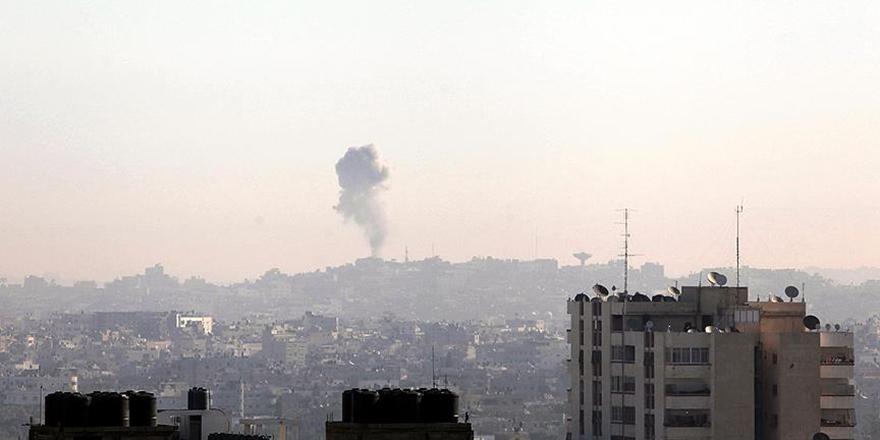 İşgalci İsrail'den Gazze'ye Roketli Saldırı!