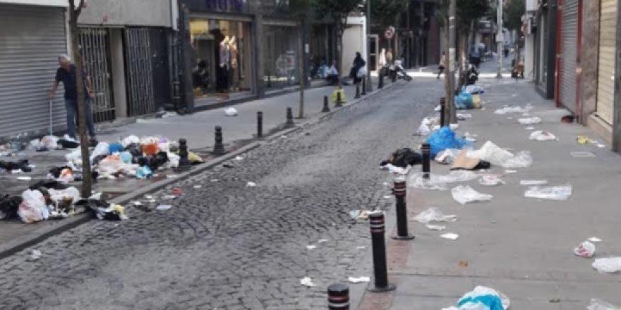 Şişli'de Grev ve Çöp Krizi