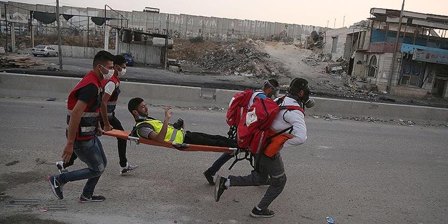 İşgalci İsrail Polisi Gazetecileri de Hedef Alıyor!