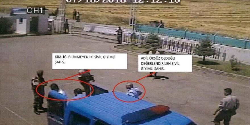 Öksüz'ün Jandarma Karakoluna Getirilmesine İlişkin Görüntüler Ortaya Çıktı