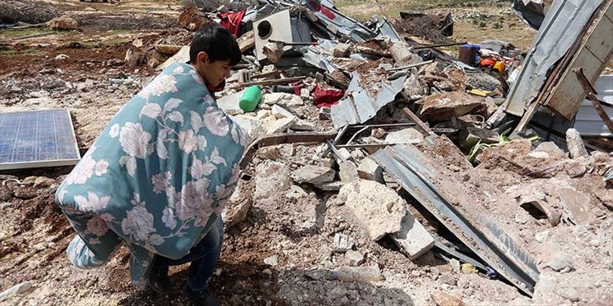 İşgalci İsrail Arakib Köyünde 118'inci Kez Yıkım Yaptı!