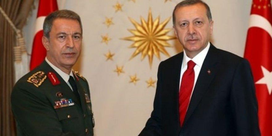 Hulusi Akar ve Cumhurbaşkanı Erdoğan'dan Akıncı Üssü Davasına Müdahillik Talebi
