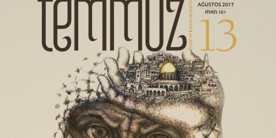 Temmuz Dergisi Yeni Sayısıyla Mescid-i Aksa'yı Selamlıyor