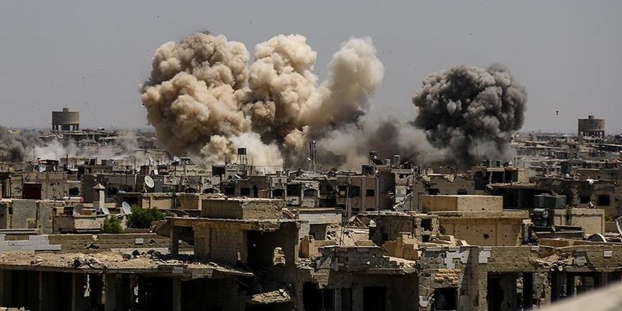 Hama'da Hava Saldırıları: 50 Sivil Hayatını Kaybetti!