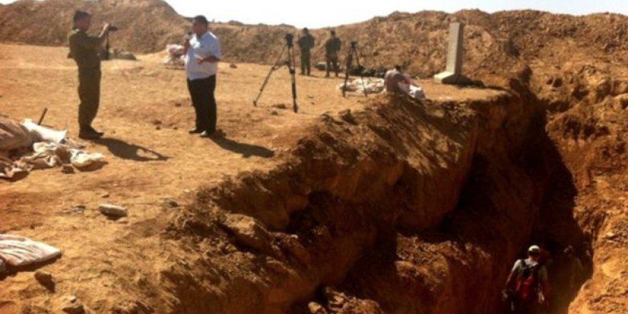 İşgalci İsrail, Gazze'de Tünel Bariyeri İnşaatını Hızlandırıyor